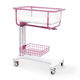 height-adjustable hospital bassinet / Trendelenburg / reverse Trendelenburg / on casters