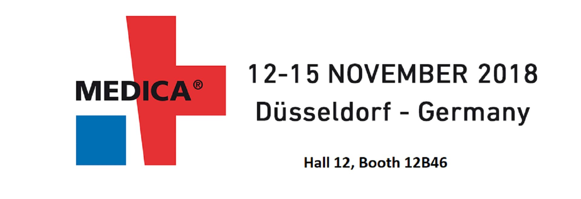12 – 15 November – MEDICA 2018 DÜSSELDORF