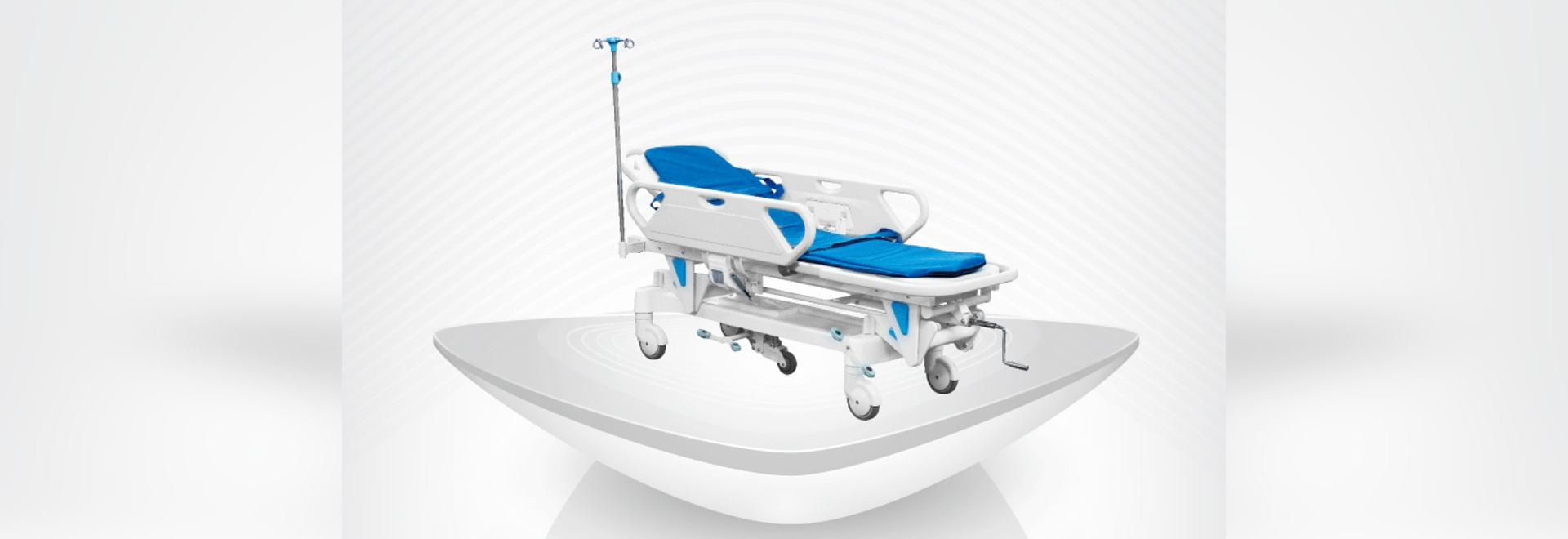 2016  new medical hospital manual stretcher / CPR / best sale comfortable / trolley