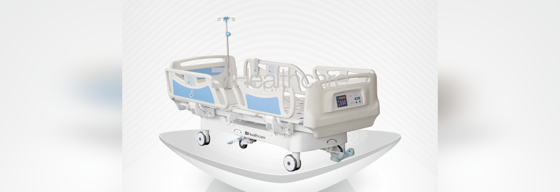 2017 New ICU hospital bed-Alphain ICU bed manufactured by BiHealthcare