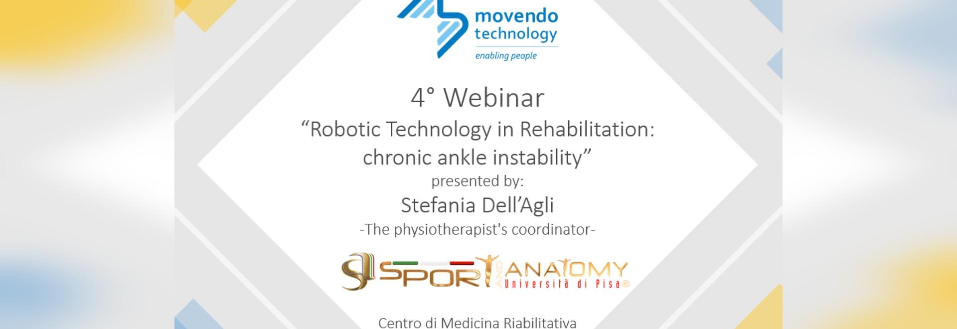 "4° Movendo Webinar in collaboration with ""Sport & Anatomy"" – Pisa University"