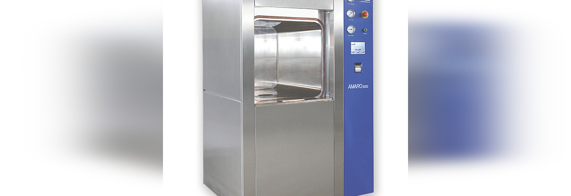 Amaro 5000 Steam Sterilizers, an efficient solution for your CSSD Department or Laboratory Institute