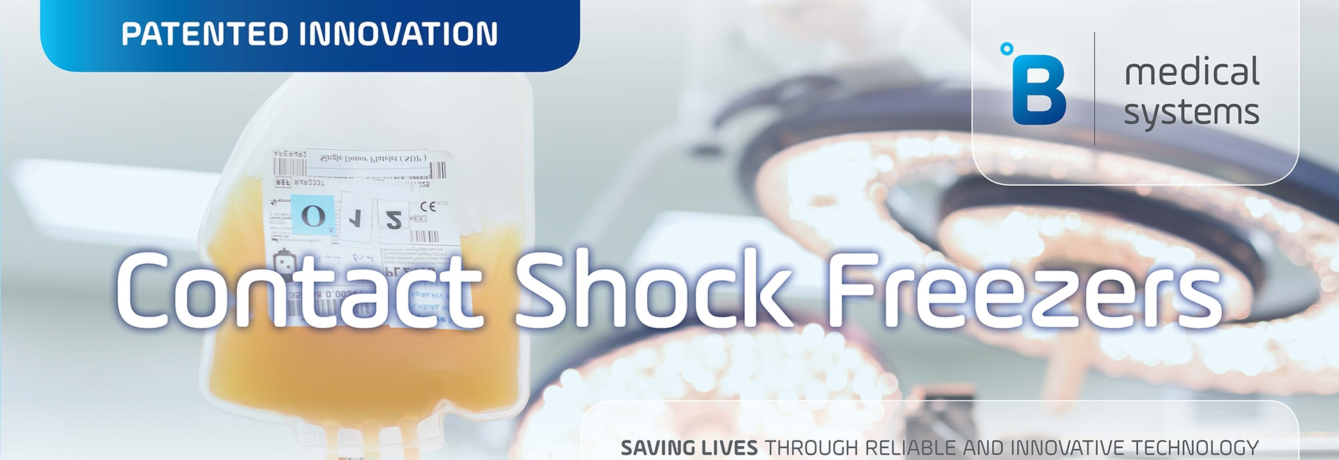 B Medical Systems' Contact Shock Freezers (infographic)
