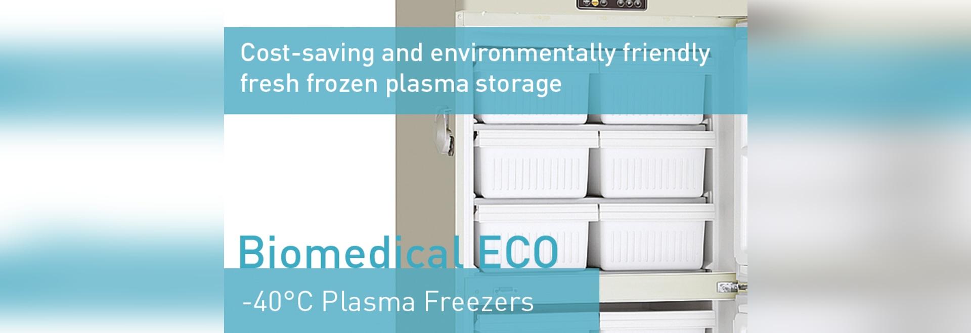 Biomedical ECO -40°C Plasma Freezers