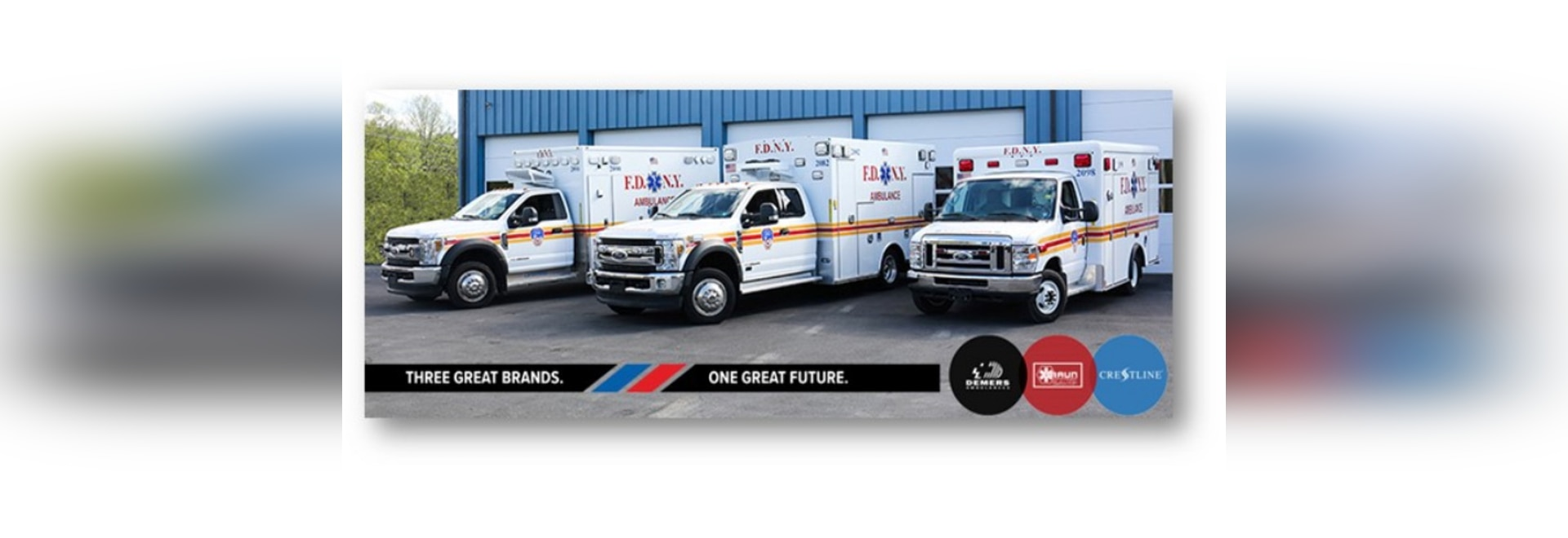 DBC Ambulance Manufacturers Deliver New Ambulances to FDNY