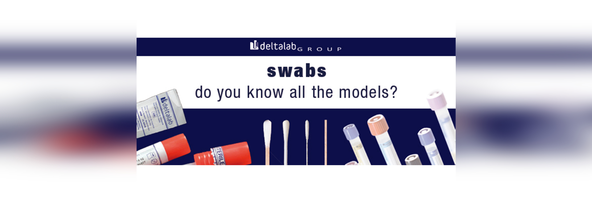 Do you know all the types of swabs?