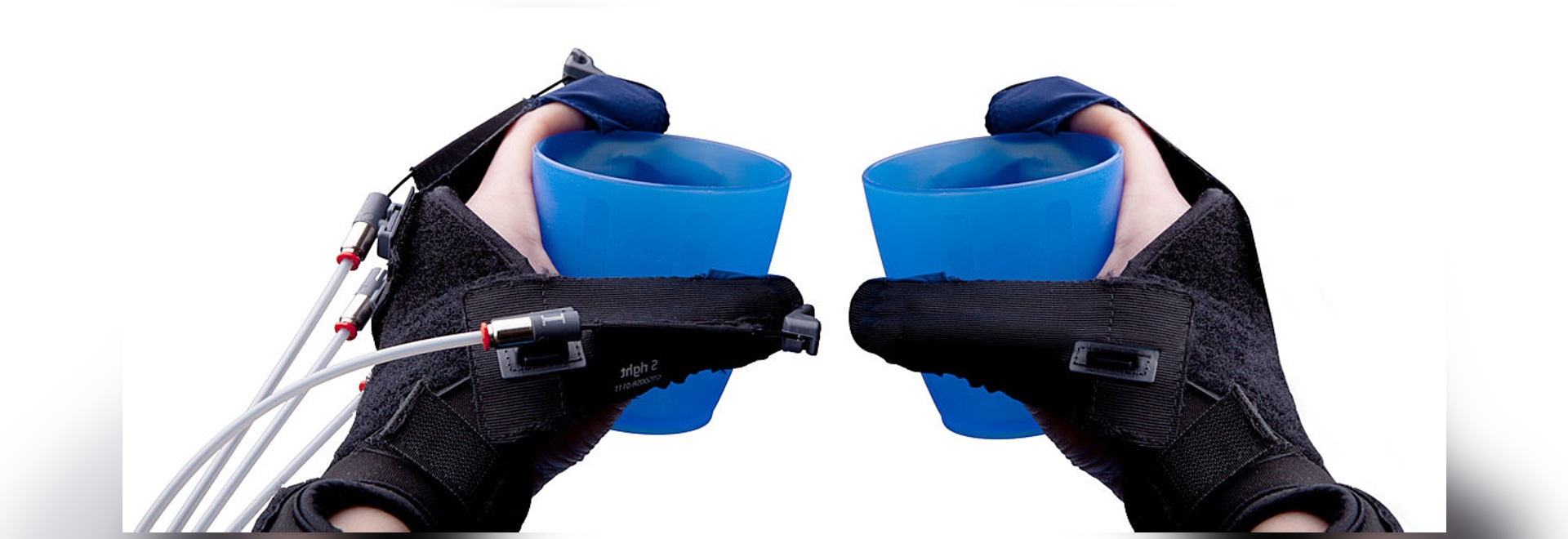 Gloreha Sinfonia: sensor glove for bimanual exercise