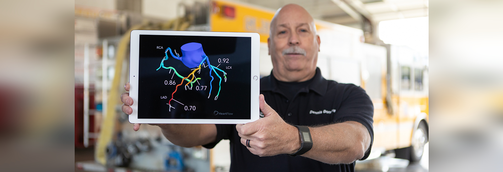 HeartFlow turns a regular CT scan of the heart into a 3D image allowing doctors to diagnose heart disease in just twenty minutes.