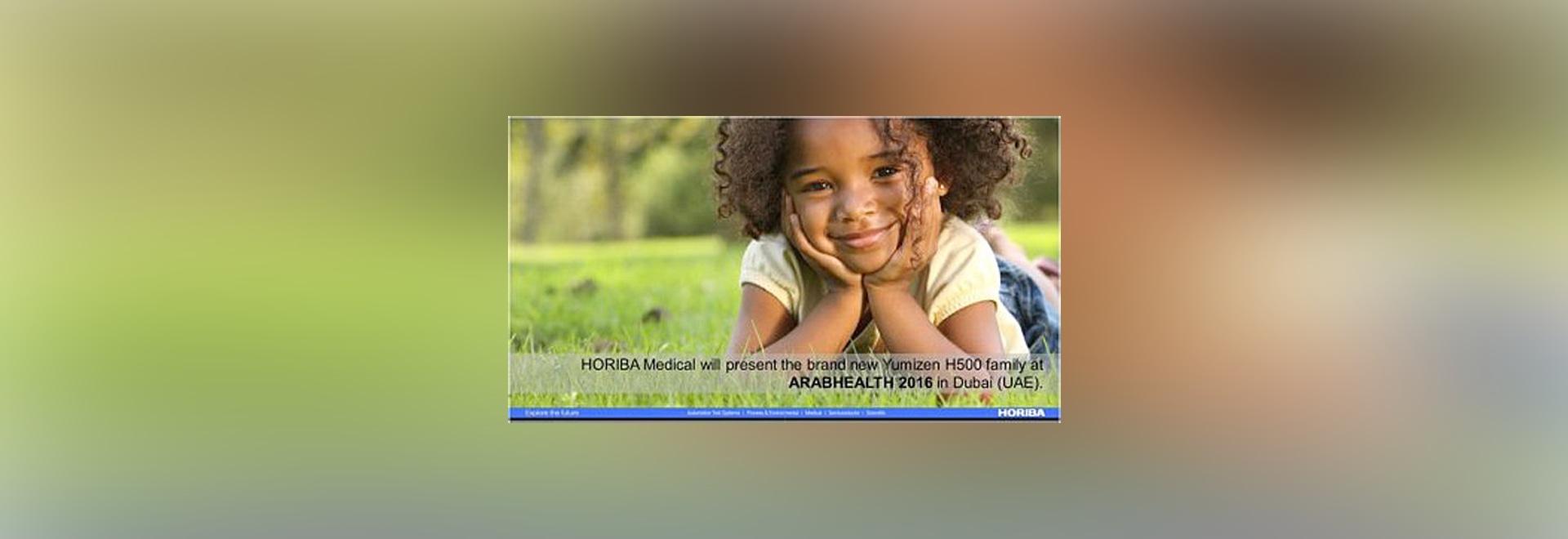 HORIBA Medical to participate to ARABHEALTH 2016