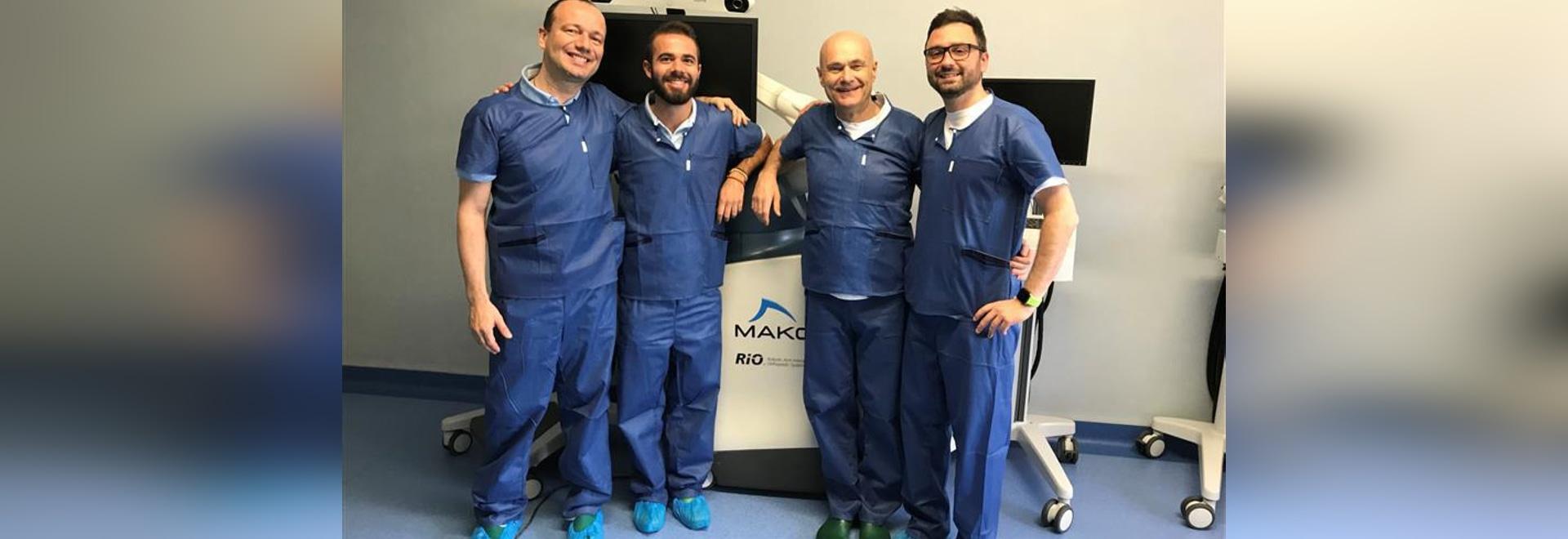 hunova and rehabilitation following robotic knee arthroplasty
