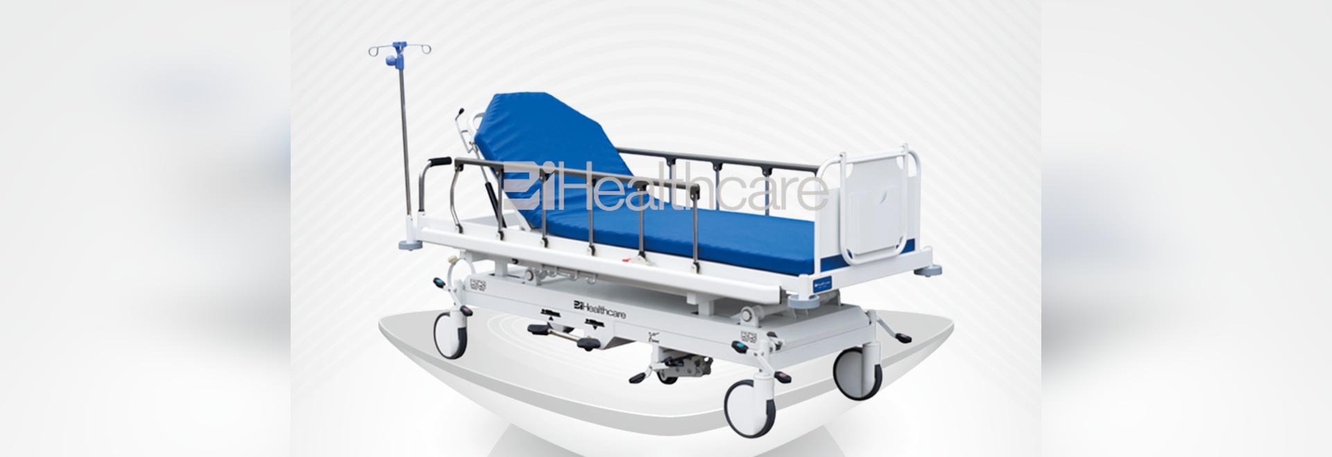 Hydraulic patient transportation stretcher