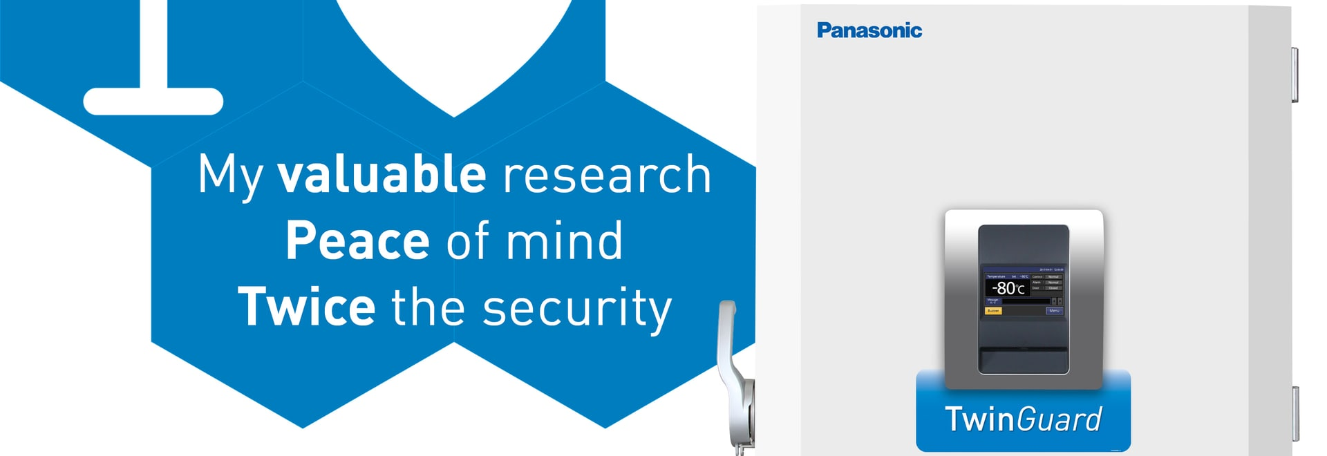 I Love My valuable research, Peace of mind, Twice the security
