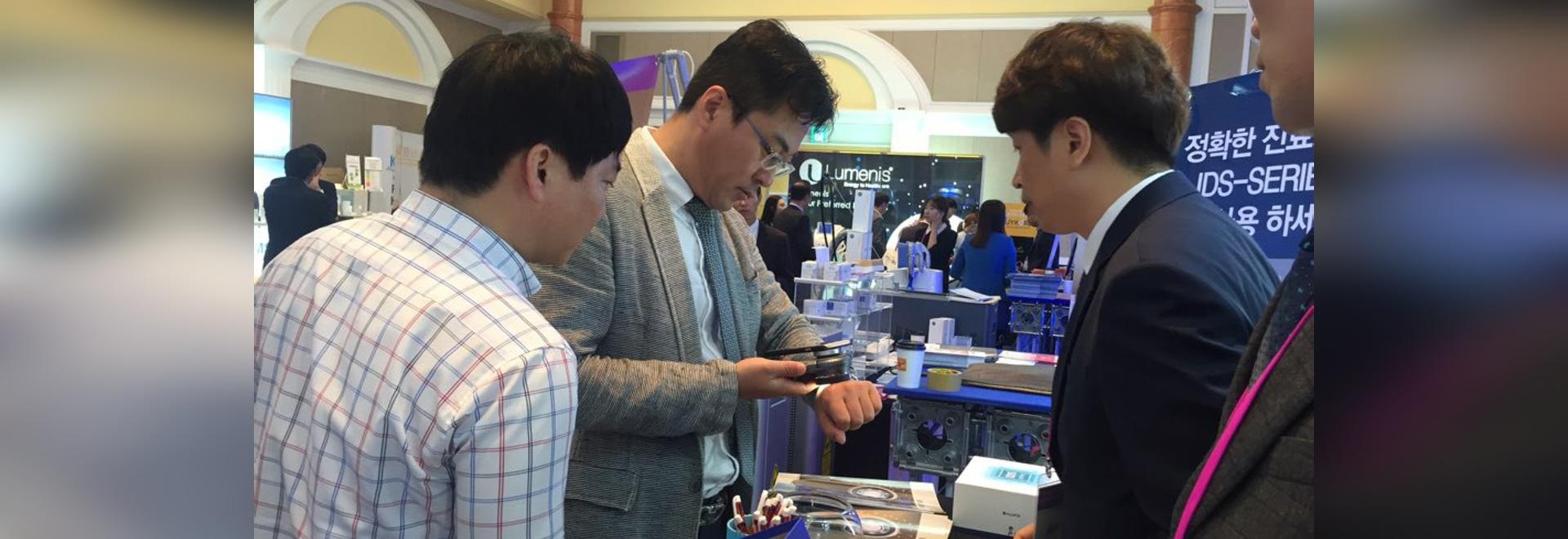 ILLUCO Dermatoscope IDS-Series on Show (Busan 2016)