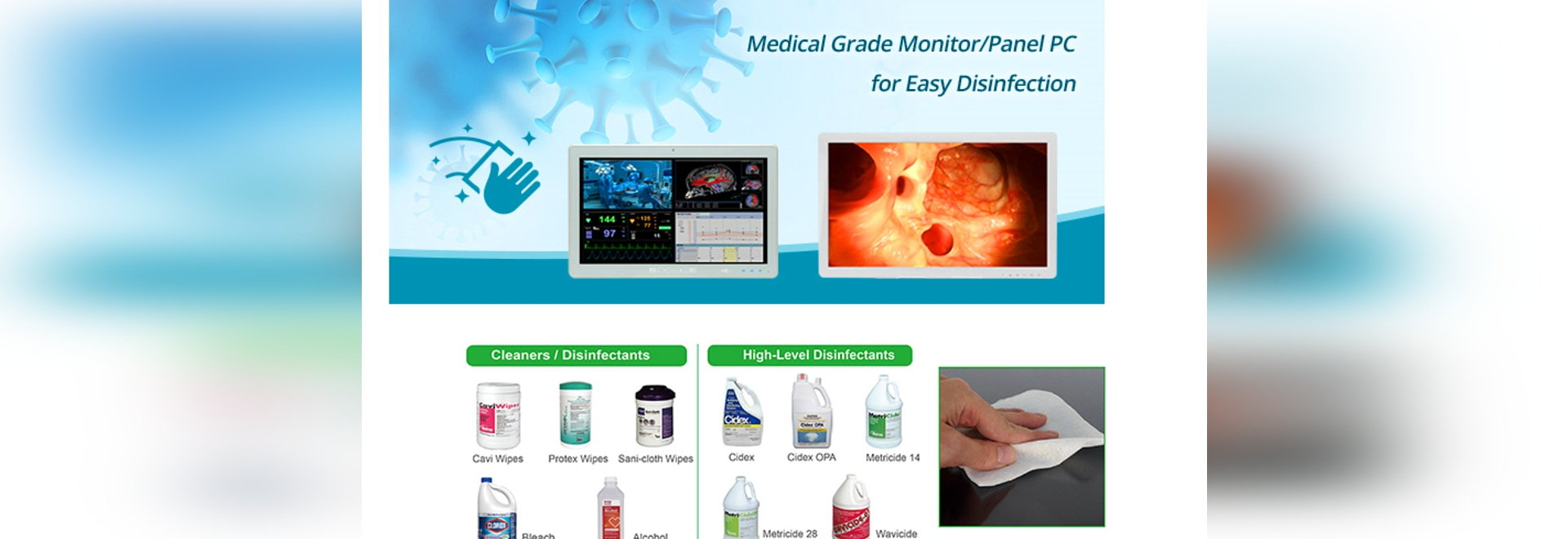 Is the PC/Monitor Used in Your Hospital Sterilizable?