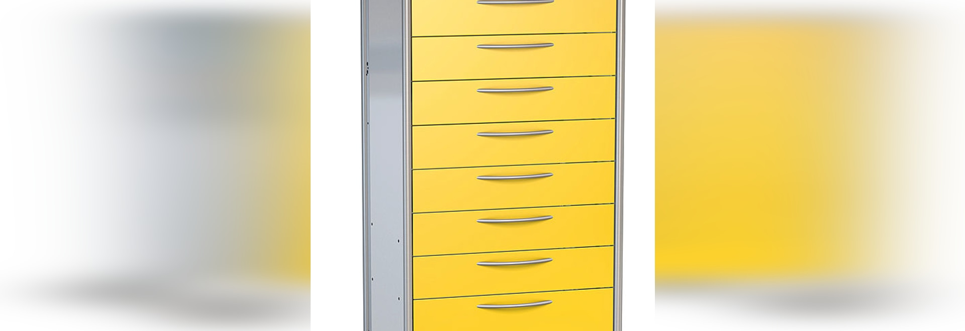 ISO Tray Cart - 1 Row for trays 600 x 400 mm by HAMMERLIT