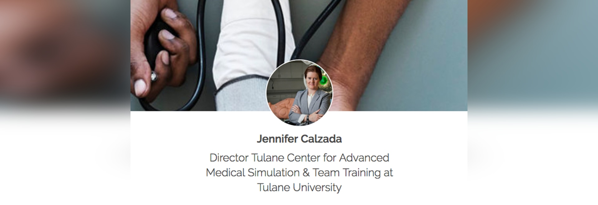 Jennifer Calzada - Creating Realistic Ambulance Simulation for Tulane's Future Healthcare Professionals