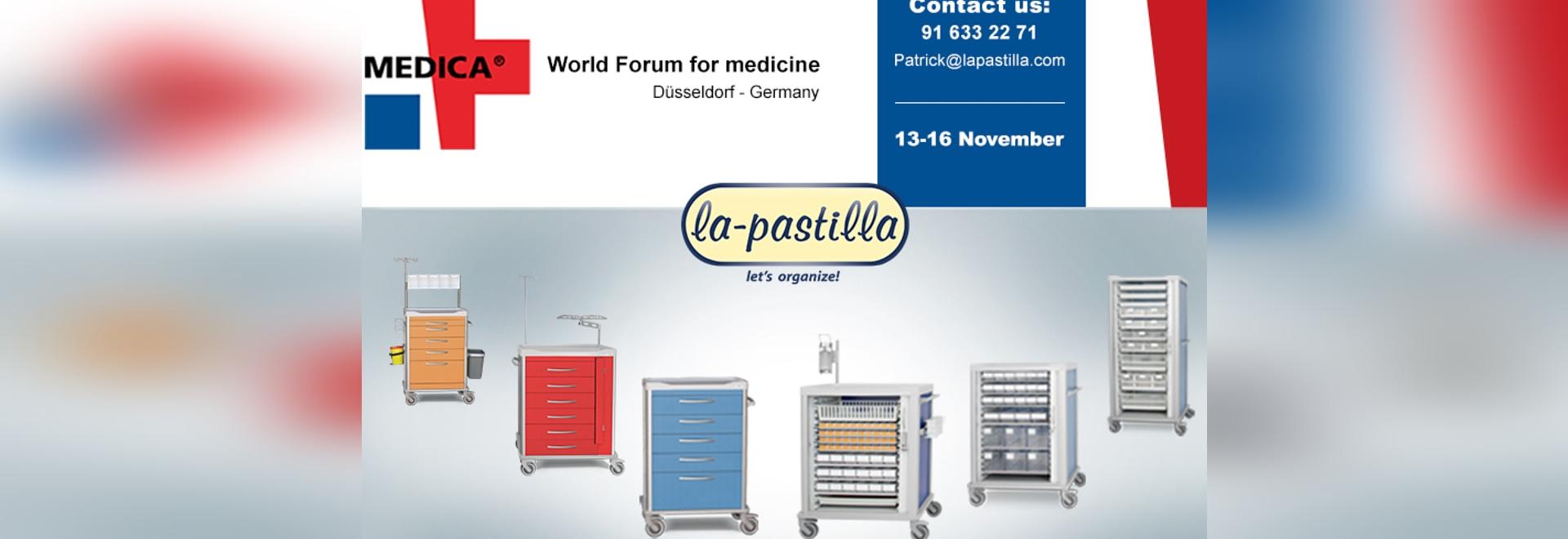 La Pastilla will be in Medica 2017, Düsseldorf.
