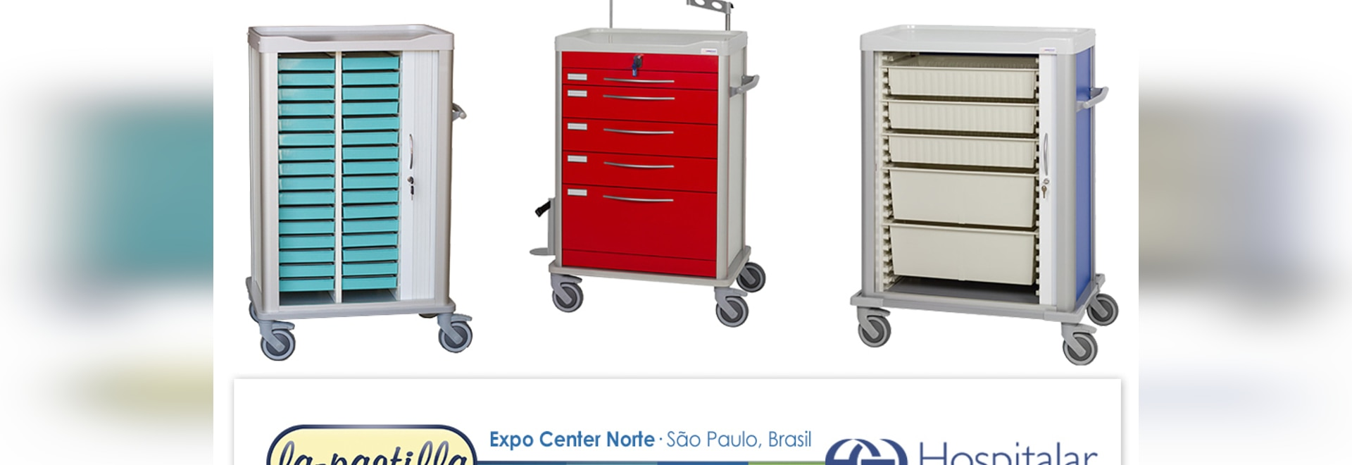 LaPastilla will present its new hospital cart at the largest fair in South America: Hospitalar