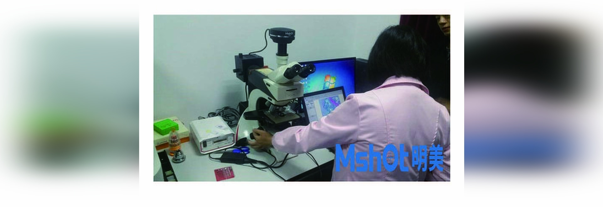 Leica Microscope With sCMOS Camera for Microscopy Imaging