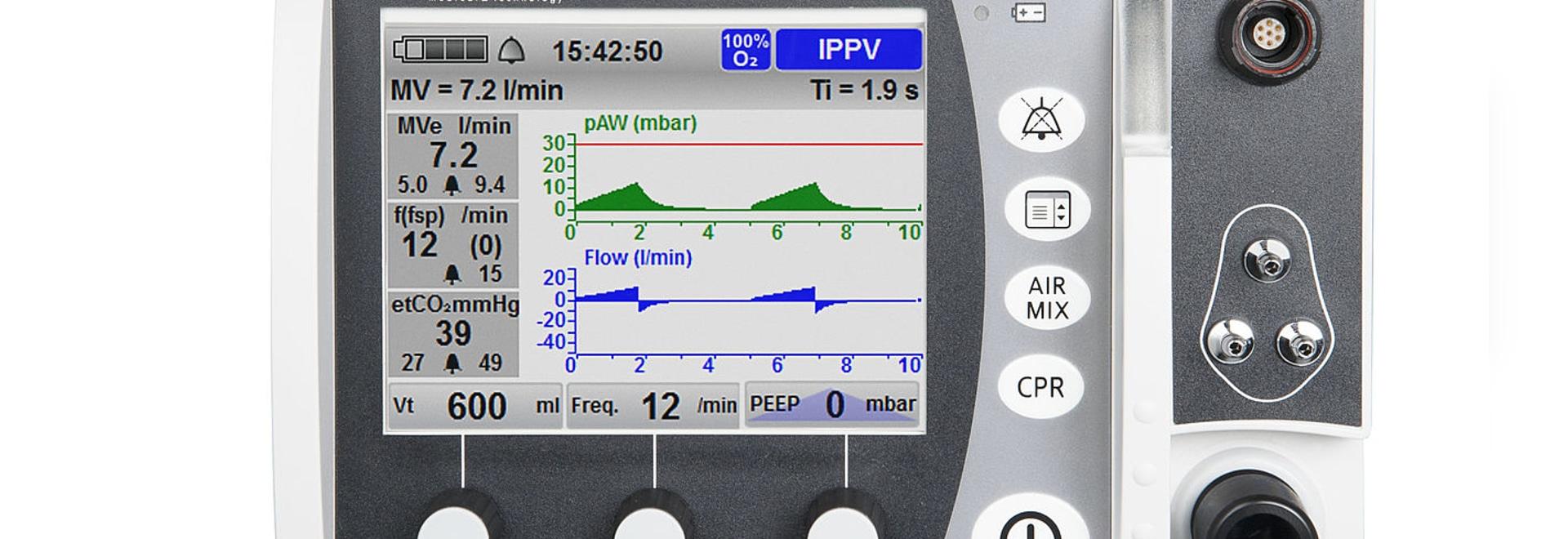 MEDUMAT Standard² – Emergency Ventilator with new Options