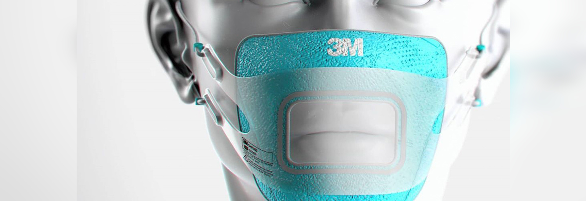 Michael Soleo's 3M-inspired version of the original face-mask by Ashley Lawrence