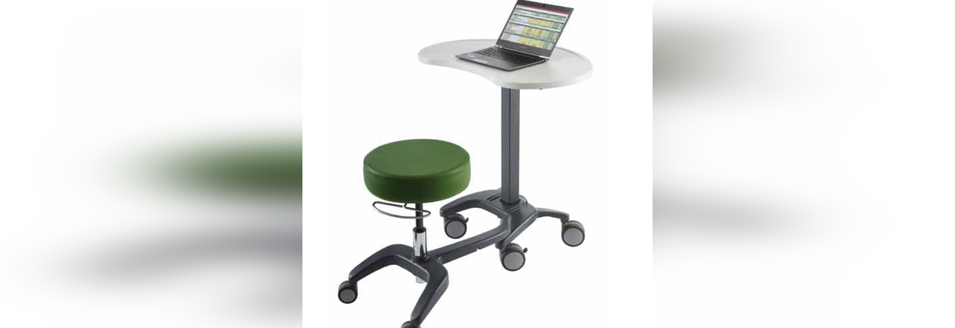 NEW: mobile computer workstation by Carstens