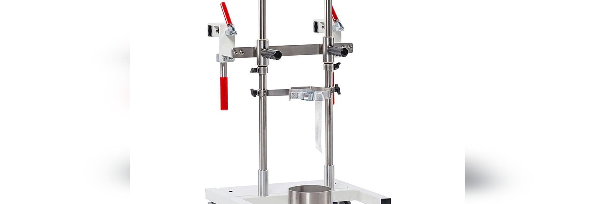 OxyDoc Light - the dockable oxygen cylinder cart for patient beds