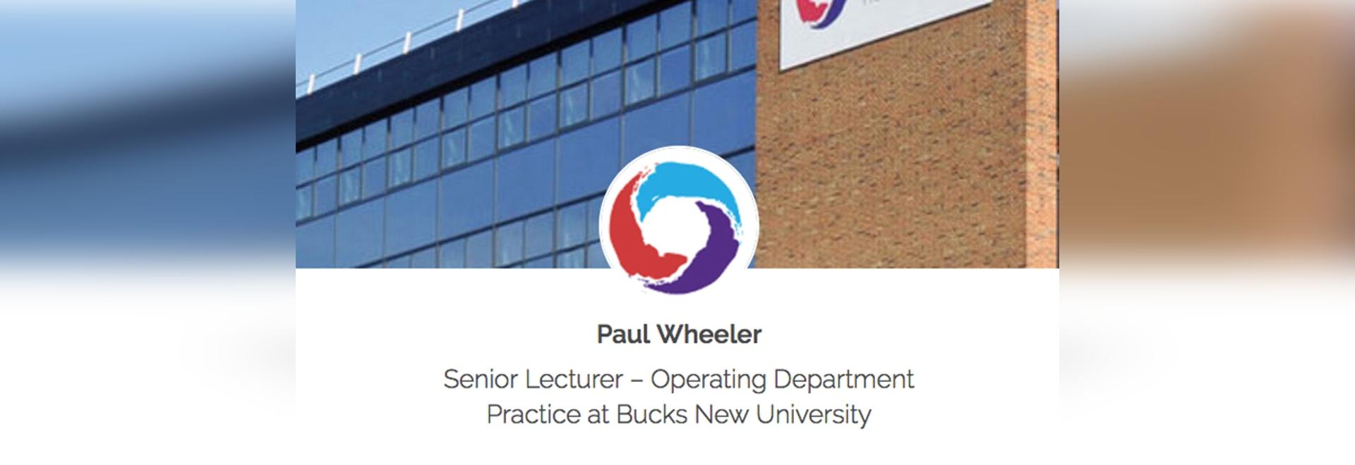 Paul Wheeler - Preparing the Next Generation of Medical Professionals with KwickScreen
