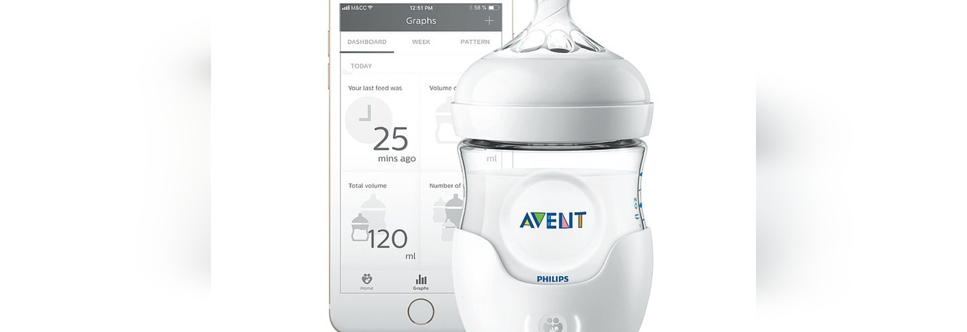 Philips Avent Smart Baby Bottle