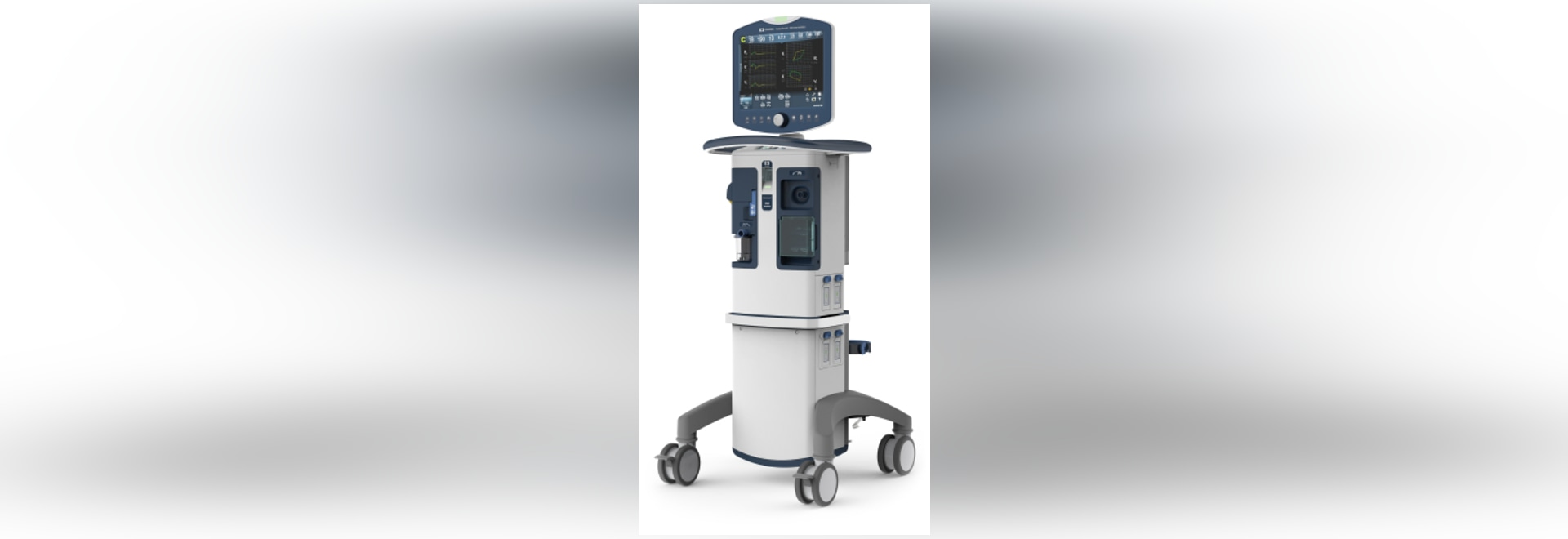 Puritan Bennett 980 ventilator, as shown in a submitted photo from Covidien