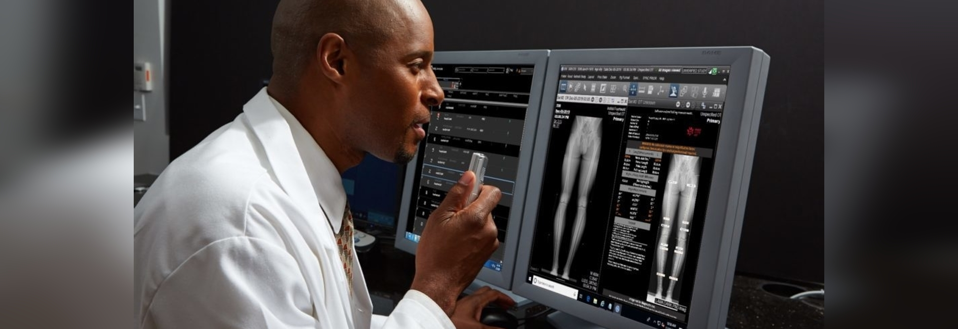 """radiologists (or more broadly speaking human readers) will not be replaced by software algorithms."""""""