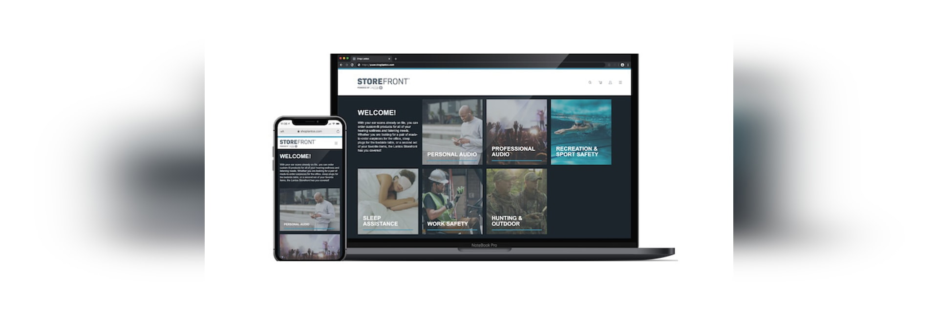 Remote B2C in-ear product portal launched by Lantos