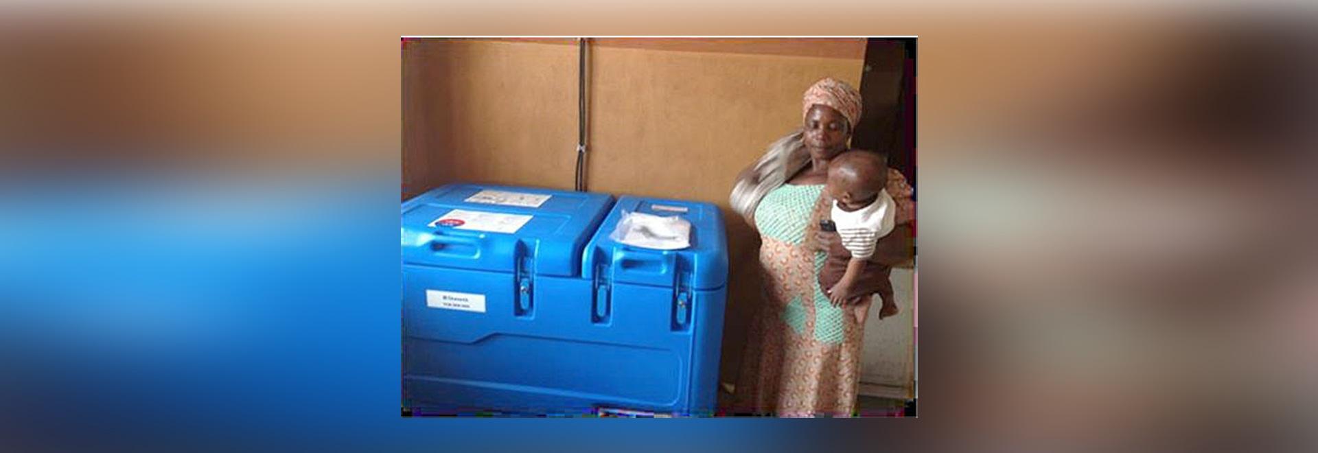 Solar Direct Drive vaccine refrigerators installed in Nigeria