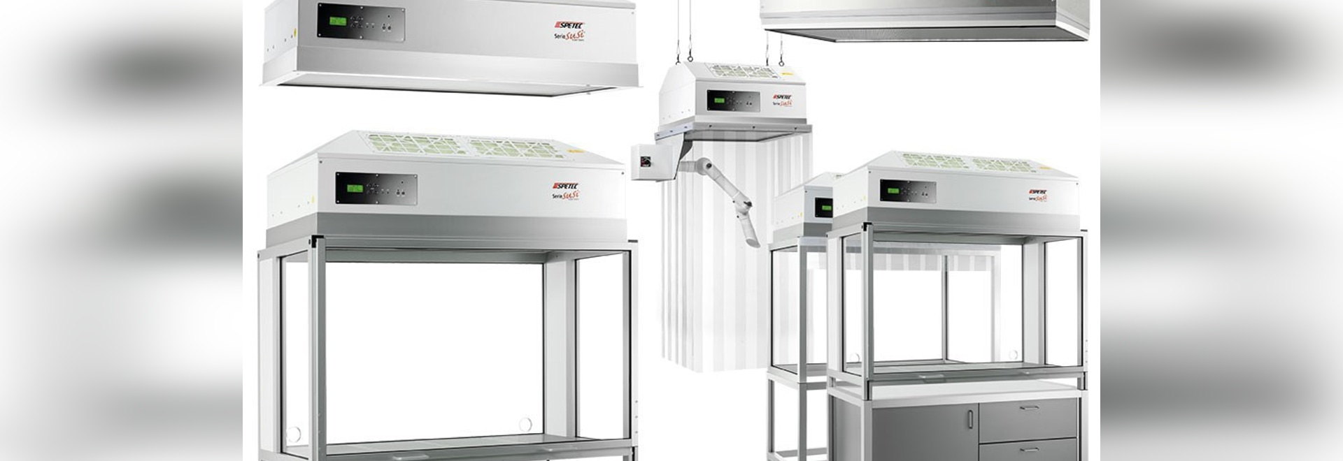 Spetec Cleanroom Technology for any workplace in industry and research