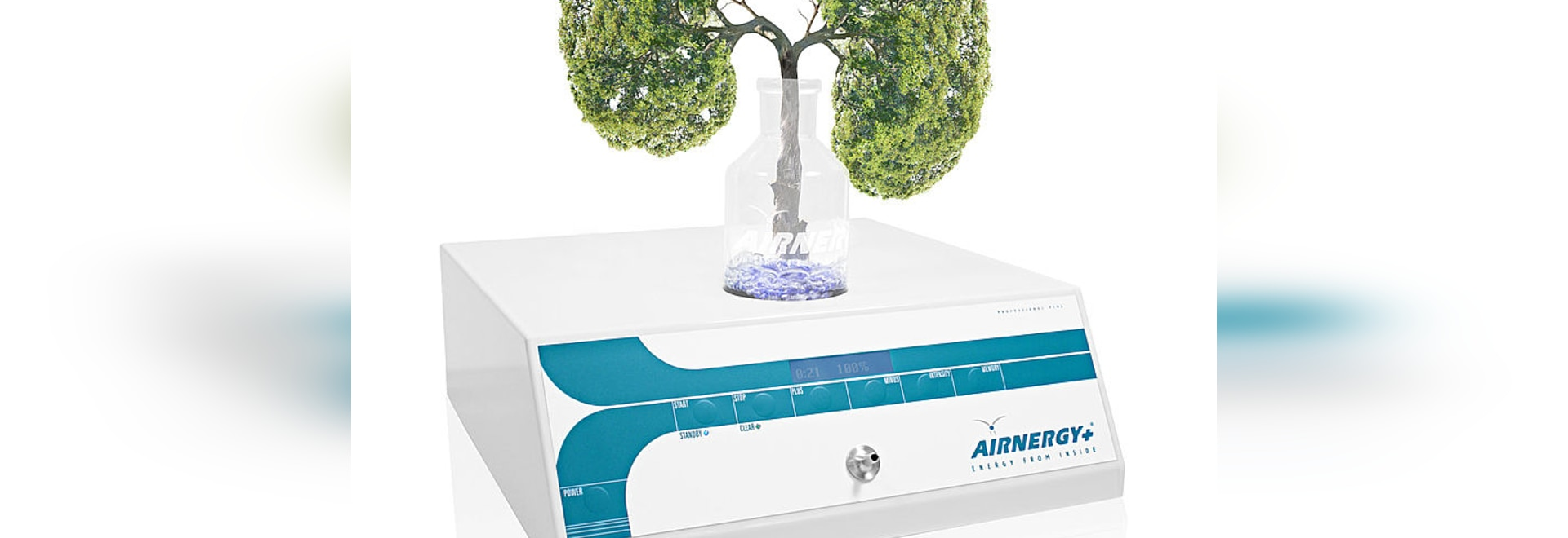 ´There are already many applications for the new spirovitalisation therapy; even suitable for COPD patients?