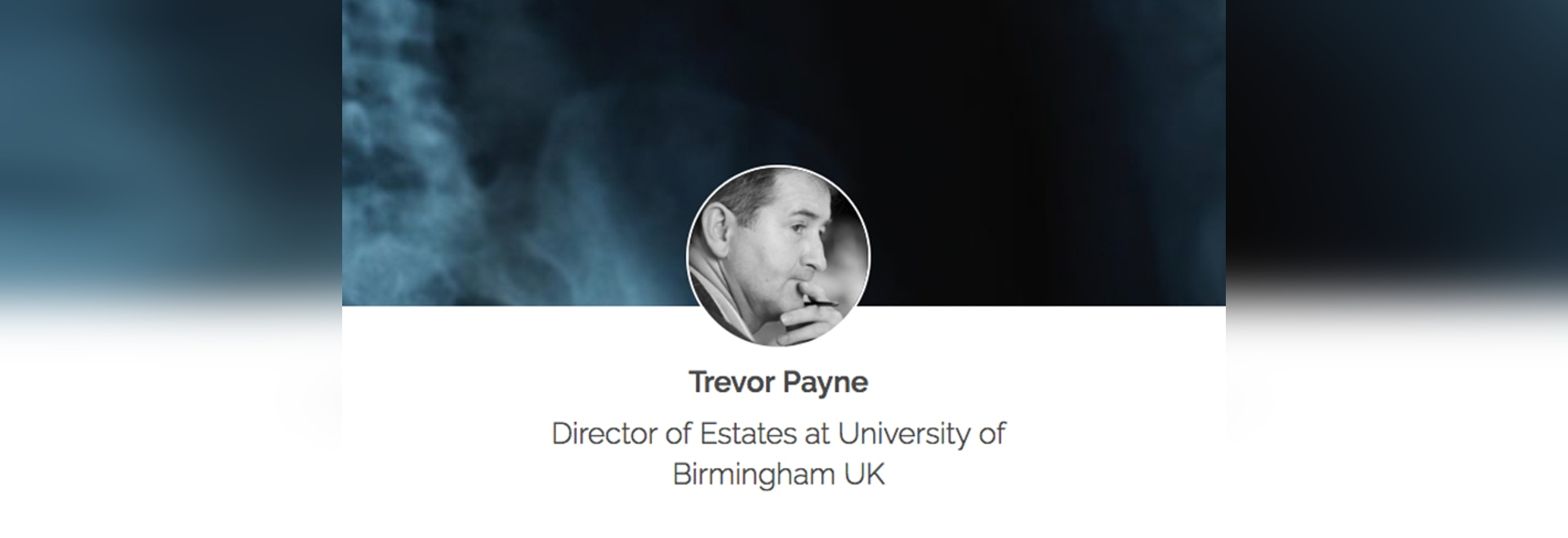 Trevor Payne - In Healthcare, Your Biggest Asset is also Your Biggest Liability: Your Environment