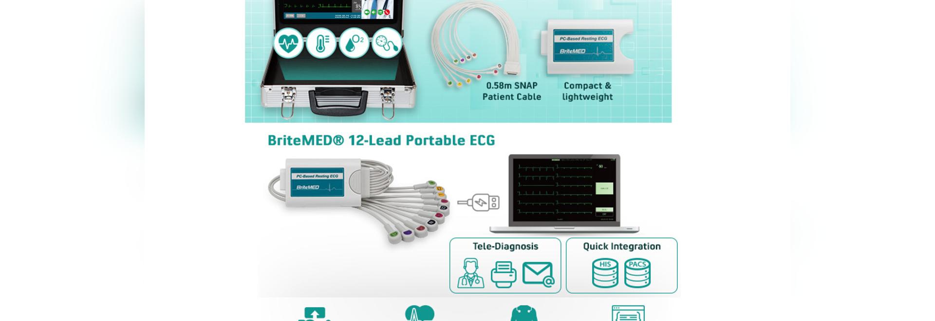 A True Portable ECG Perfect For Telemedicine Kit
