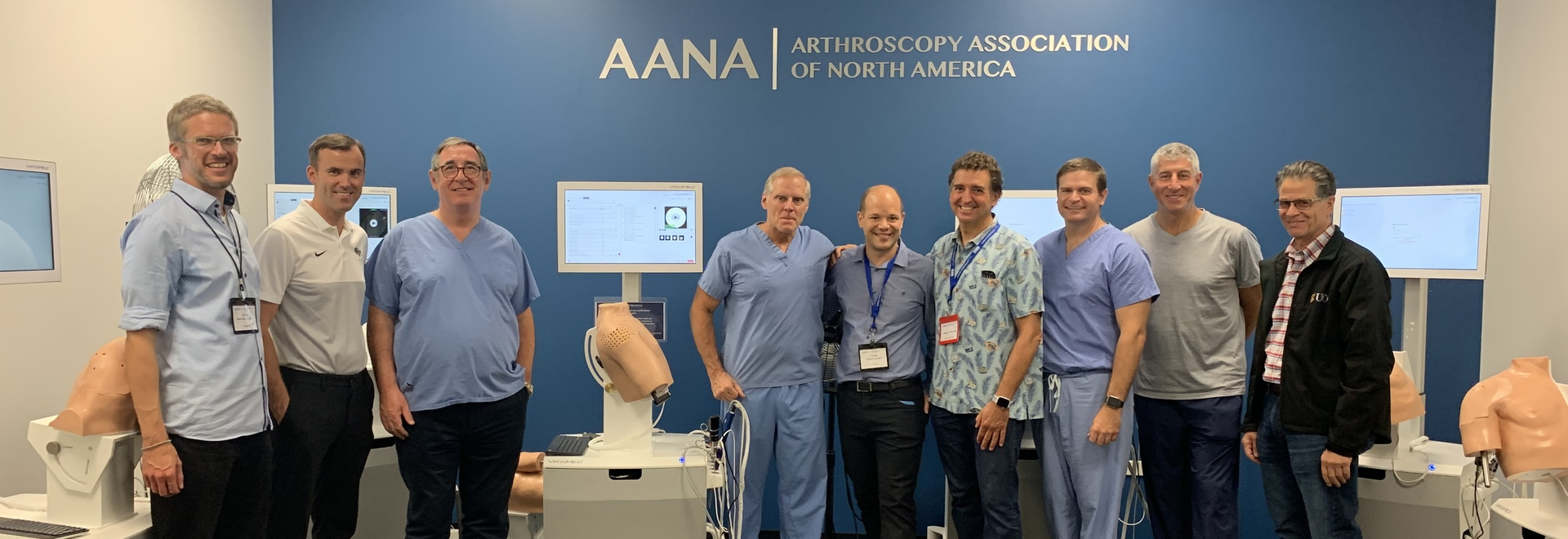 VirtaMed in the AANA Simulation Room at the OLC