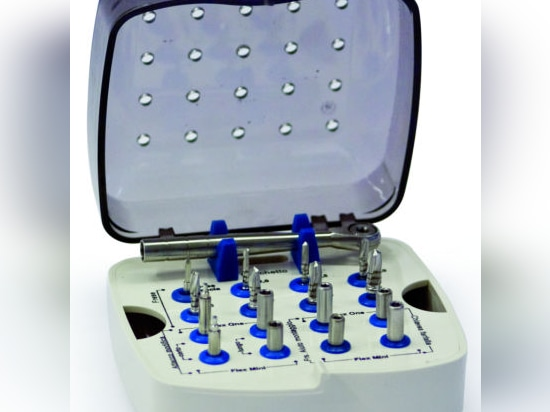 NEW: dental implant surgery instrument kit by Ziveco Group Srl