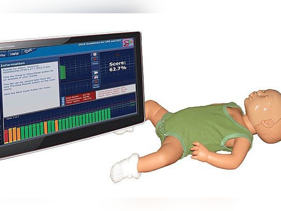 New : Real Time Accurate Objective CPR Feedback for Newborns SmartMan Neonate CPR Training System