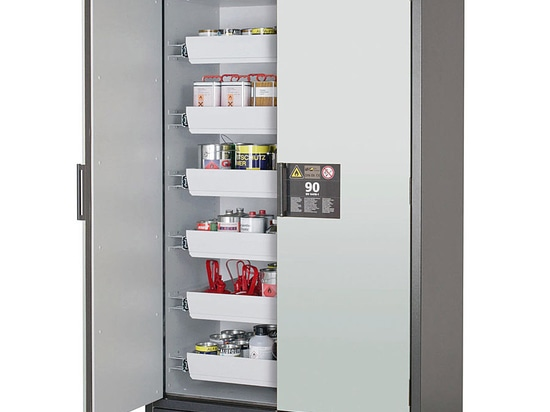 Safety Cabinet with Hinged Doors or Drawers