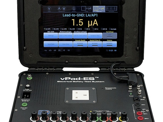 Datrend Systems launches a ruggedized version of their vPad-ESTM Electrical Safety Analyzer