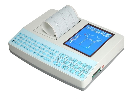Electrocardiograph E600G - 3/6/12 channels with automatic analysis and automatic interpretation, graphic color display