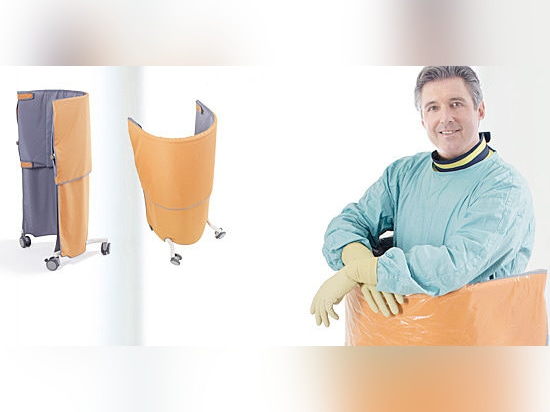Radiation Protective Shield WD261 - Do not let inflexible radiation protection affect your safety