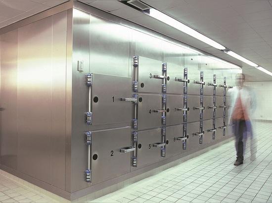 SmartProtec® Powder Coating & Seamless TECTO overlapping for morgue refrigeration units