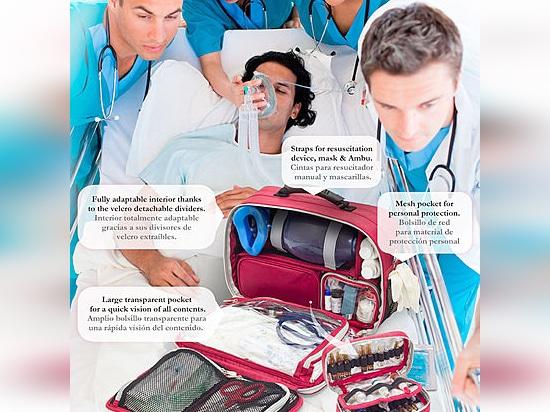 New Cardiac Arrest Briefcase