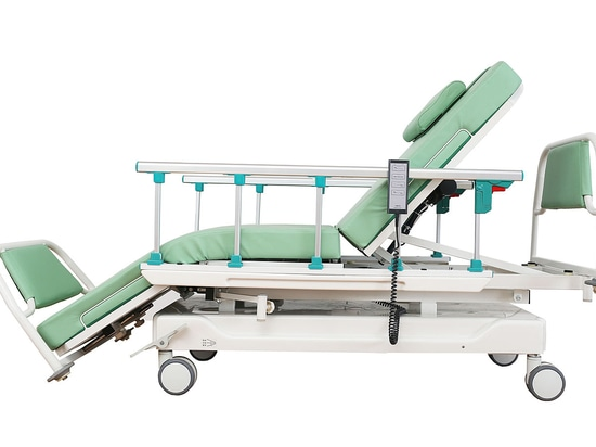 Blood donation bed by Passion Medical