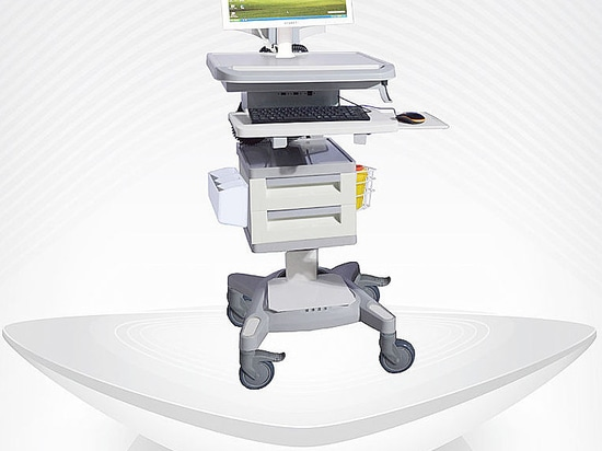 Computer cart by BI Healthcare / workstation cart