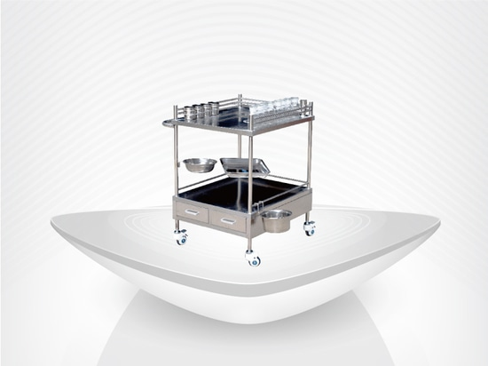 Stainless Steel Cart / Hospital Utility Cart / Medical Treatment Cart / Competitive prices