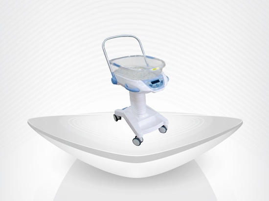 New Transparent hospital Baby Bassinet / best price and high quanlity / weighing system / pediatric bed